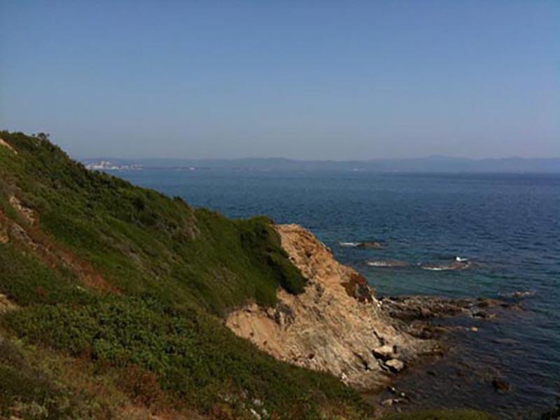 Sentier du littoral de Giens