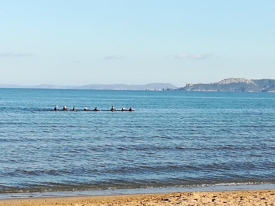 Mer sur la Presqu'île de Giens
