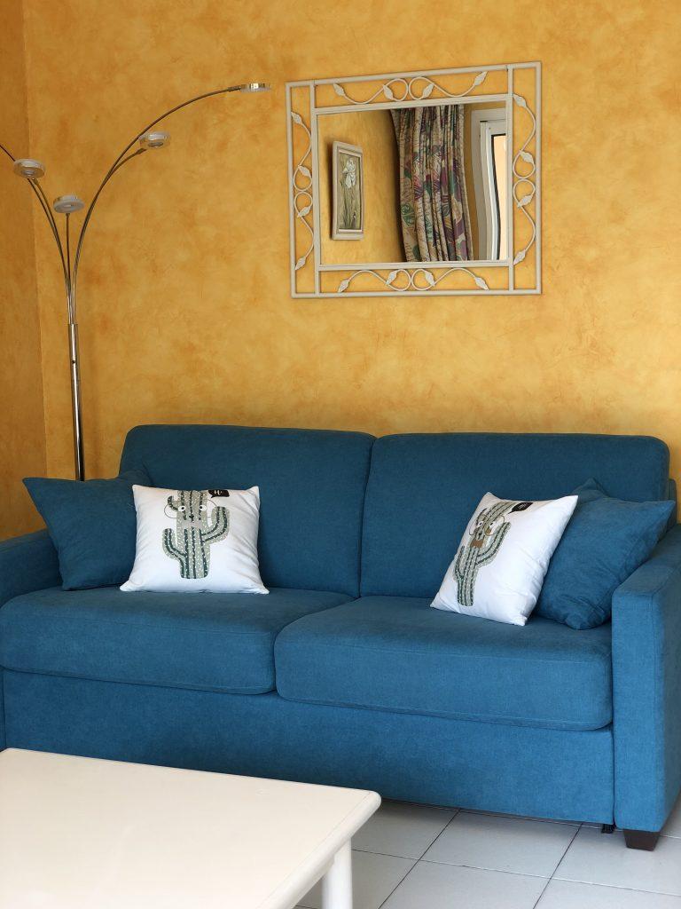 Canapé Salon de la Location - Appartement de Giens