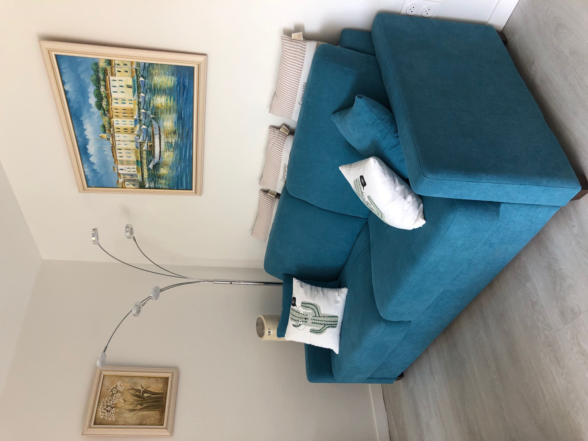 Canapé du Salon de l'appartement
